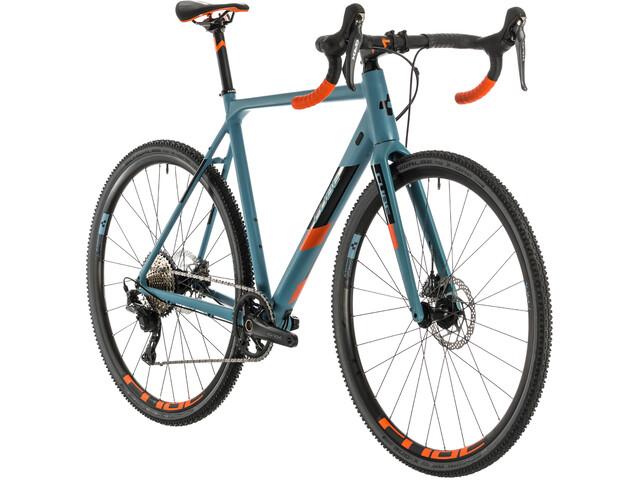 Cube Cross Race SL blue grey/orange
